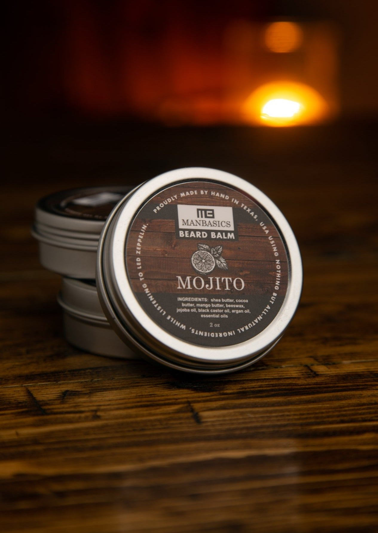 ManBasics All-Natural Beard Balm - Mojito Blend