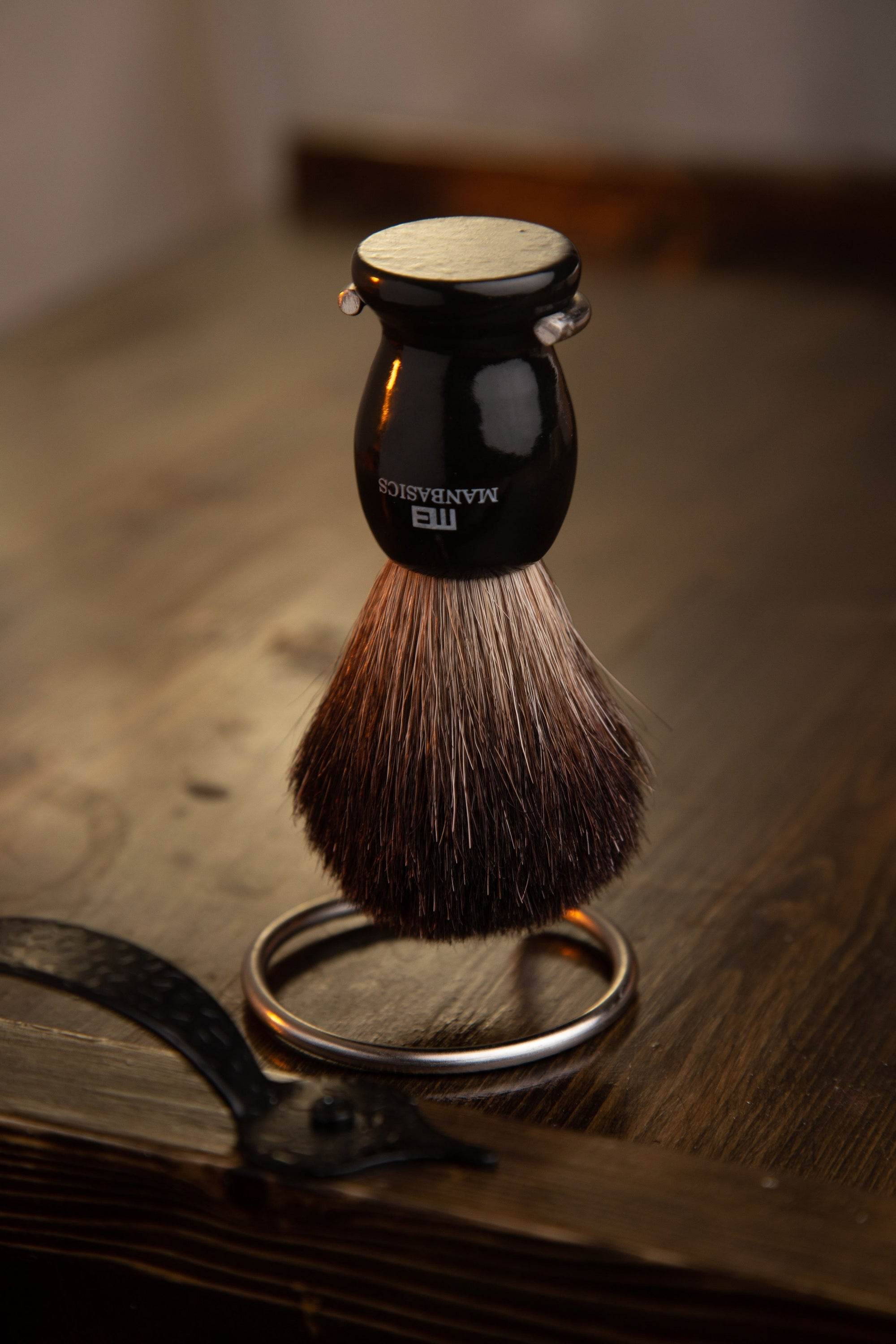 Badger Hair Shaving Brush from ManBasics
