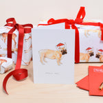 Joyeux Noel French Bulldog Christmas Card