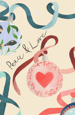 Festive Bauble Eco-Friendly Recycled Gift Tags