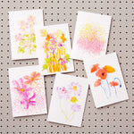 Set of Six Greetings Cards with Wildflower Seeds
