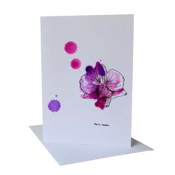 Beautifully Illustrated Floral Notecards - Pack of 6