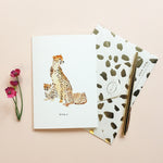 Queen Cheetah Mother's Day Card