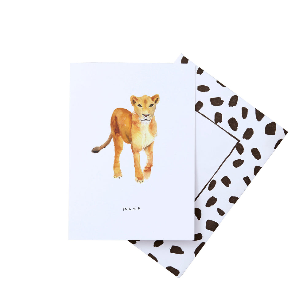 Mama Lioness Mother's Day Card