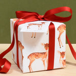 Fawn In The Snow Eco Friendly Recycled Wrapping Paper