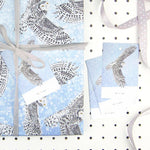 Snowy Owl Eco Recycled Gift Tags