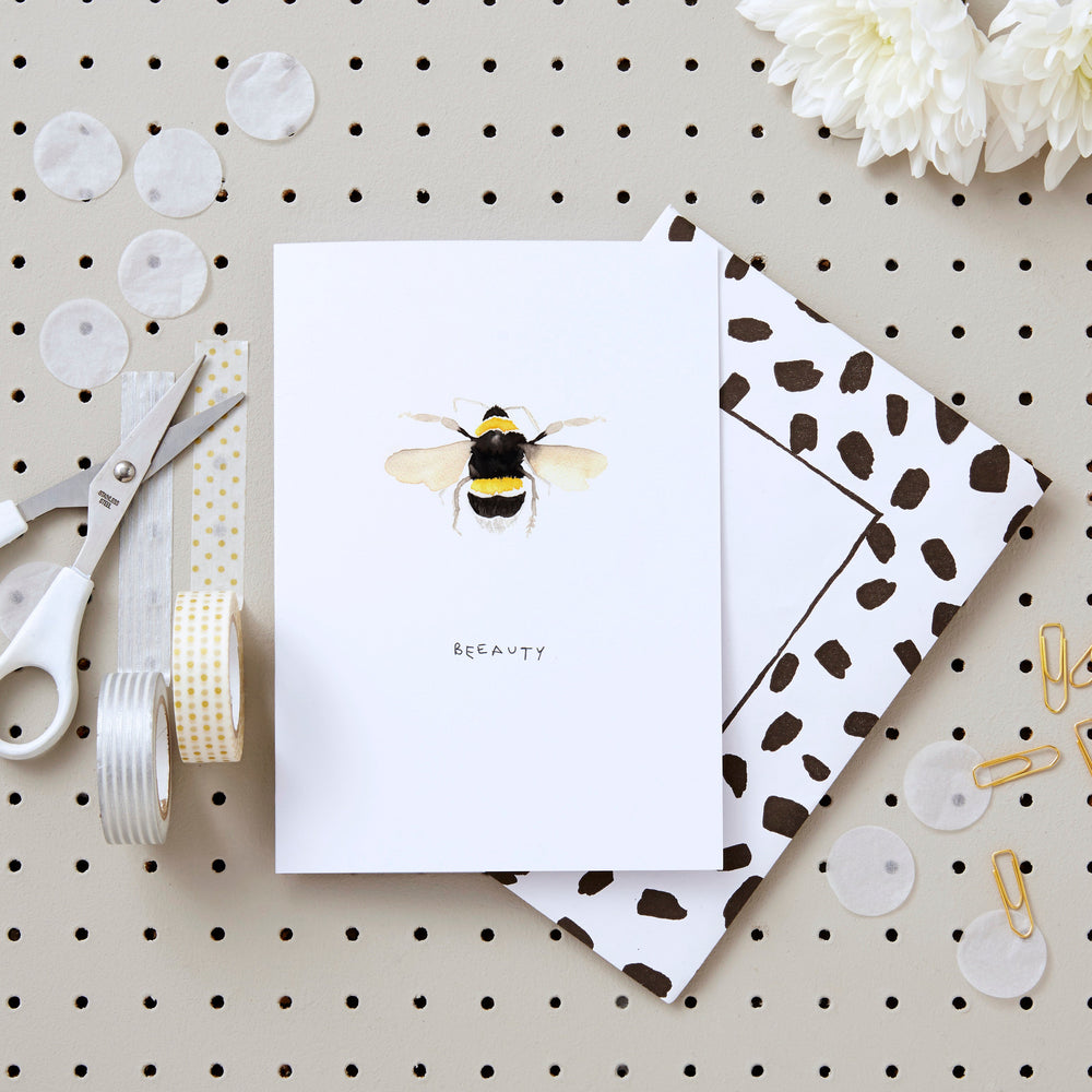 Beeauty Greetings Card