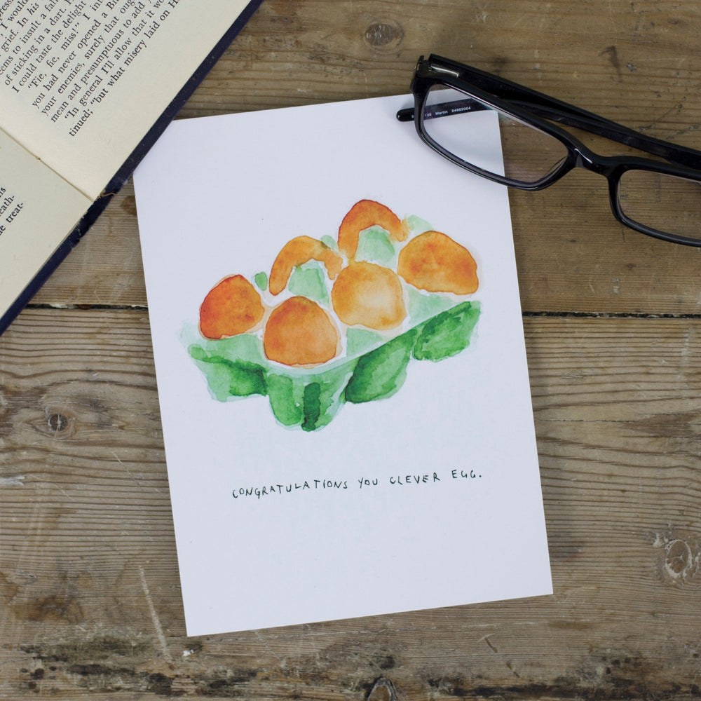 Congratulations Egg Greetings Card