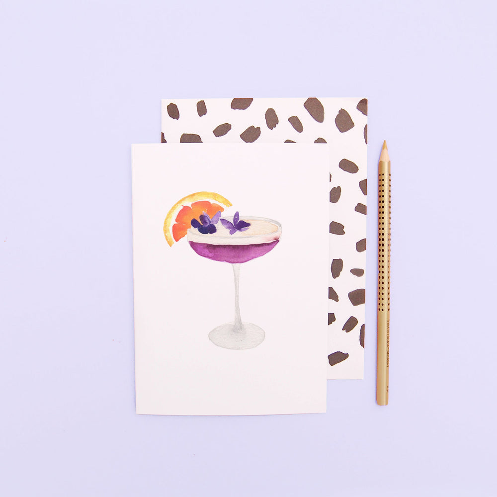 Cocktail Greeting Card