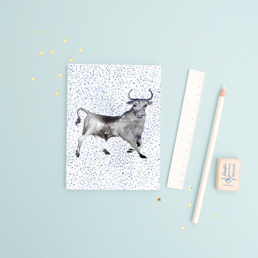 The Bull Taurus Recycled Paper Notebook