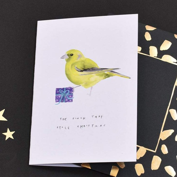 The Finch that stoleChristmas Card