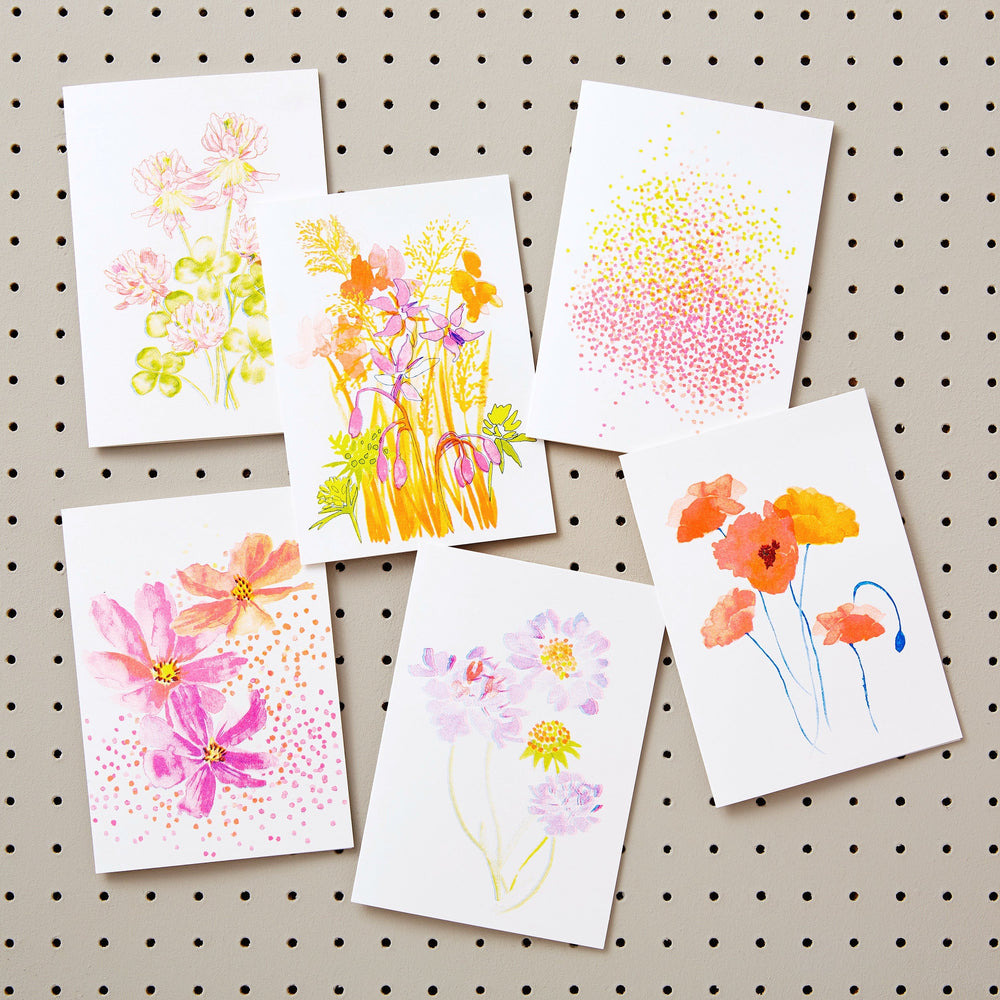 Candytuft Greetings Card with Seeds for Bees