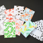 Pack of Eight Mixed Animal Notecards