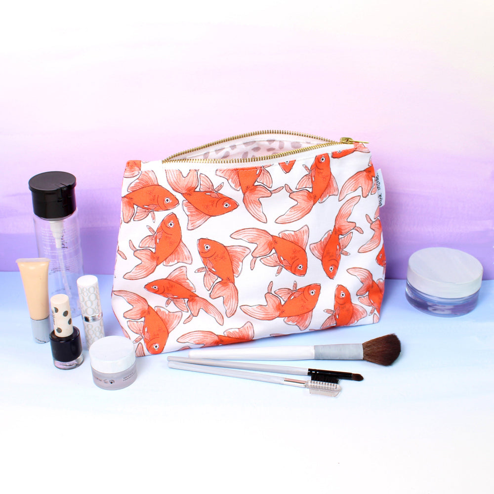 Goldfish Wash Bag