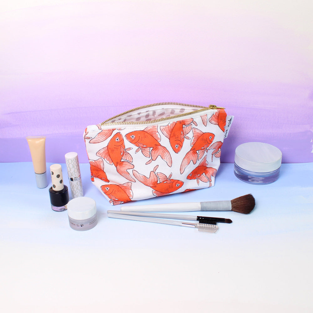Goldfish Small Cosmetic Bag