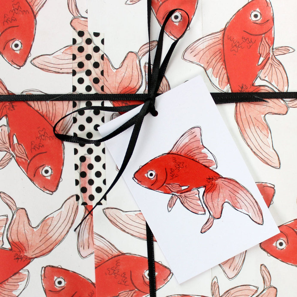Goldfish Eco Gift Tags