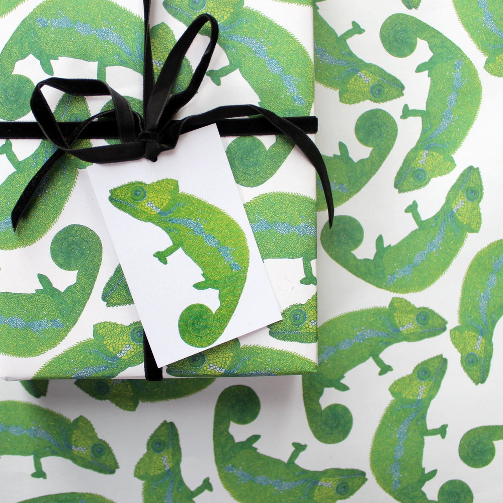 Chameleon Eco Gift Tags