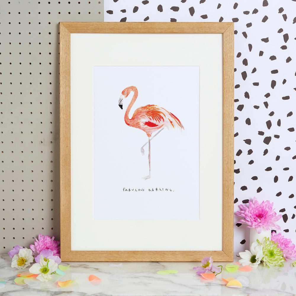 Fabulous Darling Art Print