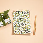 Set of Six Spirit Collection Ecological Patterned Notecards