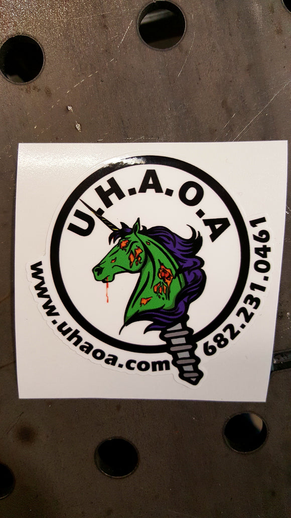 UHAOA Sticker