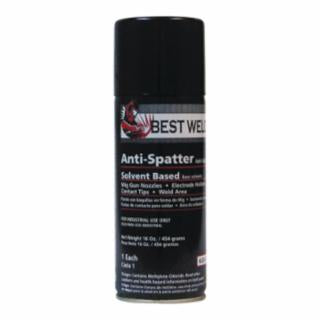 Anti-Spatter, 16 oz Aerosol Can, Clear 12PK