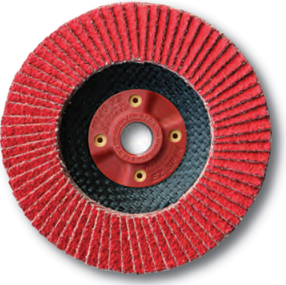 Ceramic Flap Disc 4.5 x 5/8-11 - 120 grit - 5PK