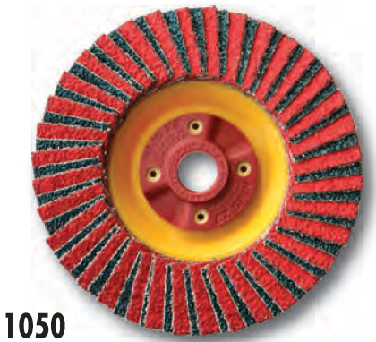 Ceramic/Zirconia Flap Disc 4.5 x7/8 - 60 grit - 5PK