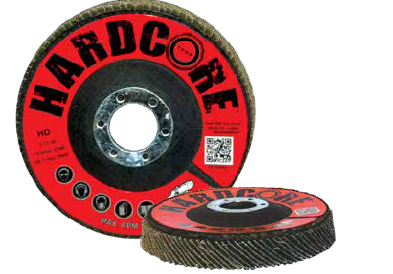Flap Disc (Jumbo) 4.5 x 5/8 Type 27 - 36 grit - 10PK