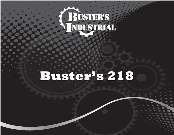 Buster's 218 - Detergent - 5 gal