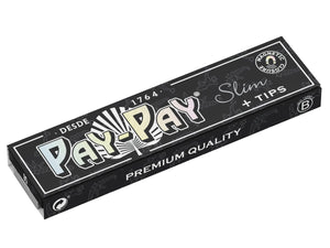 Feuilles Pay Pay Black Slim & Tips