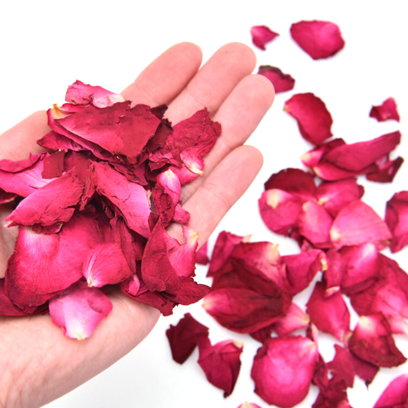 Natural Rose Petals, Bathroom, Beauty Products