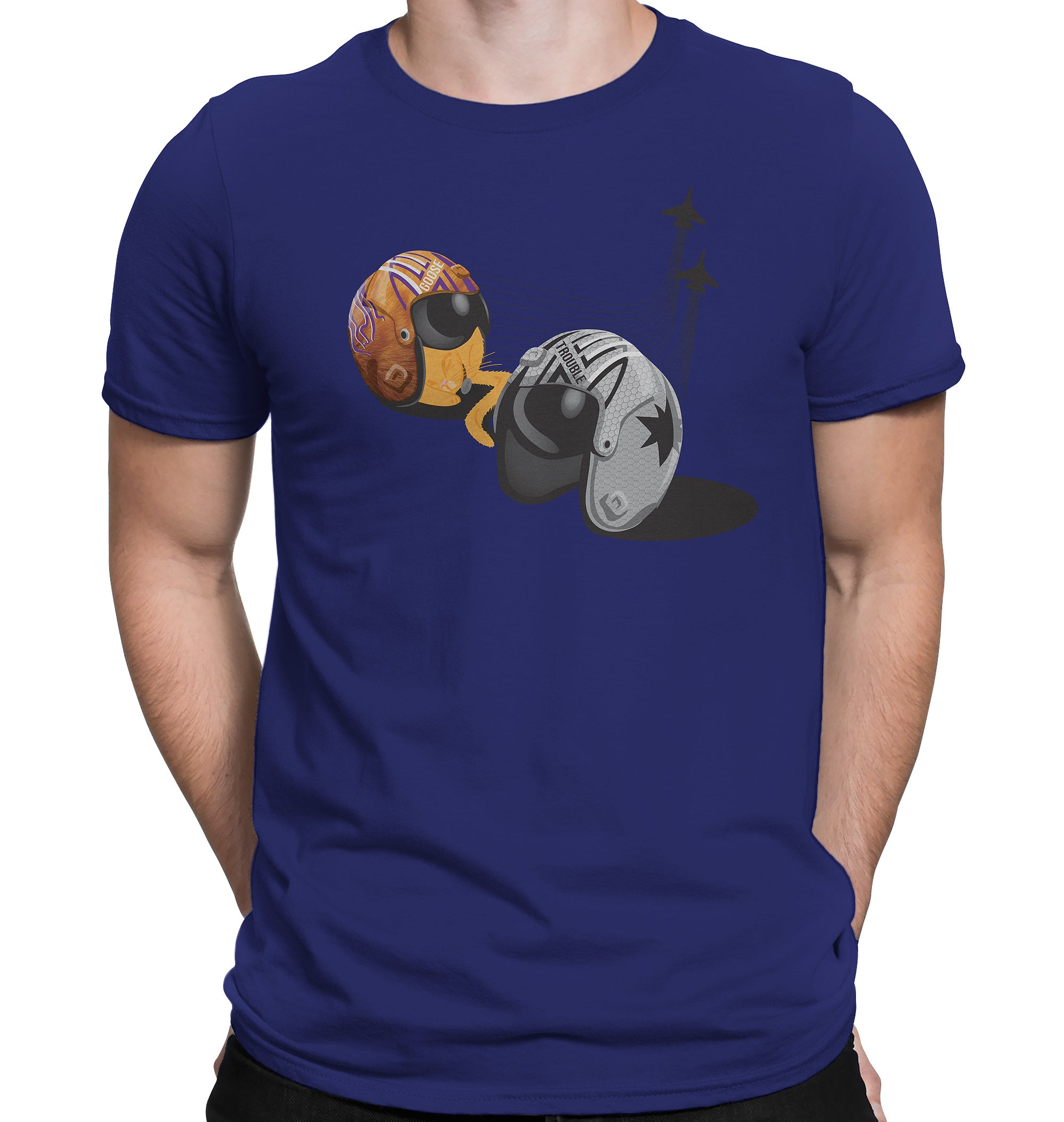 Space Force Fighter Pilot Helmet T-Shirts