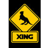 Tauntaun Crossing Metal Sign