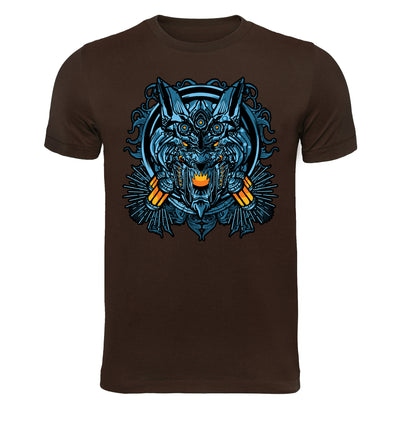 Cybernetic Wolf Robot T-Shirt