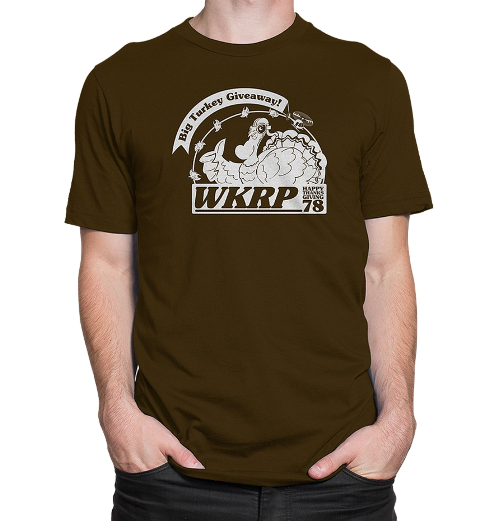 Thanksgiving Turkey Drop T-Shirt
