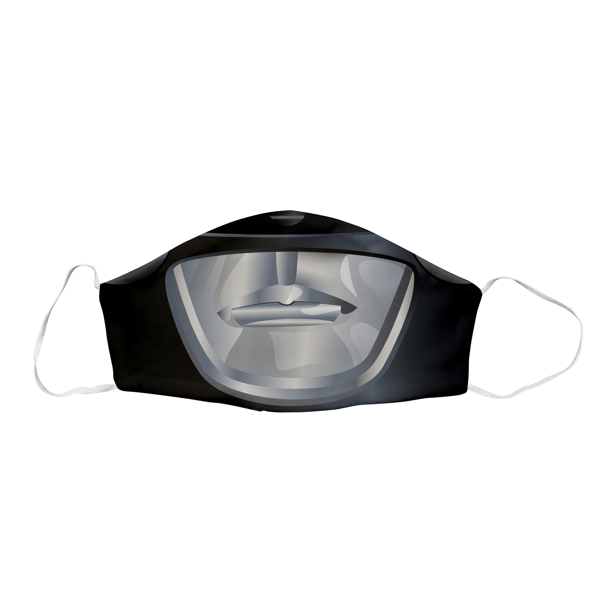 Black Sentai Ranger Face Mask
