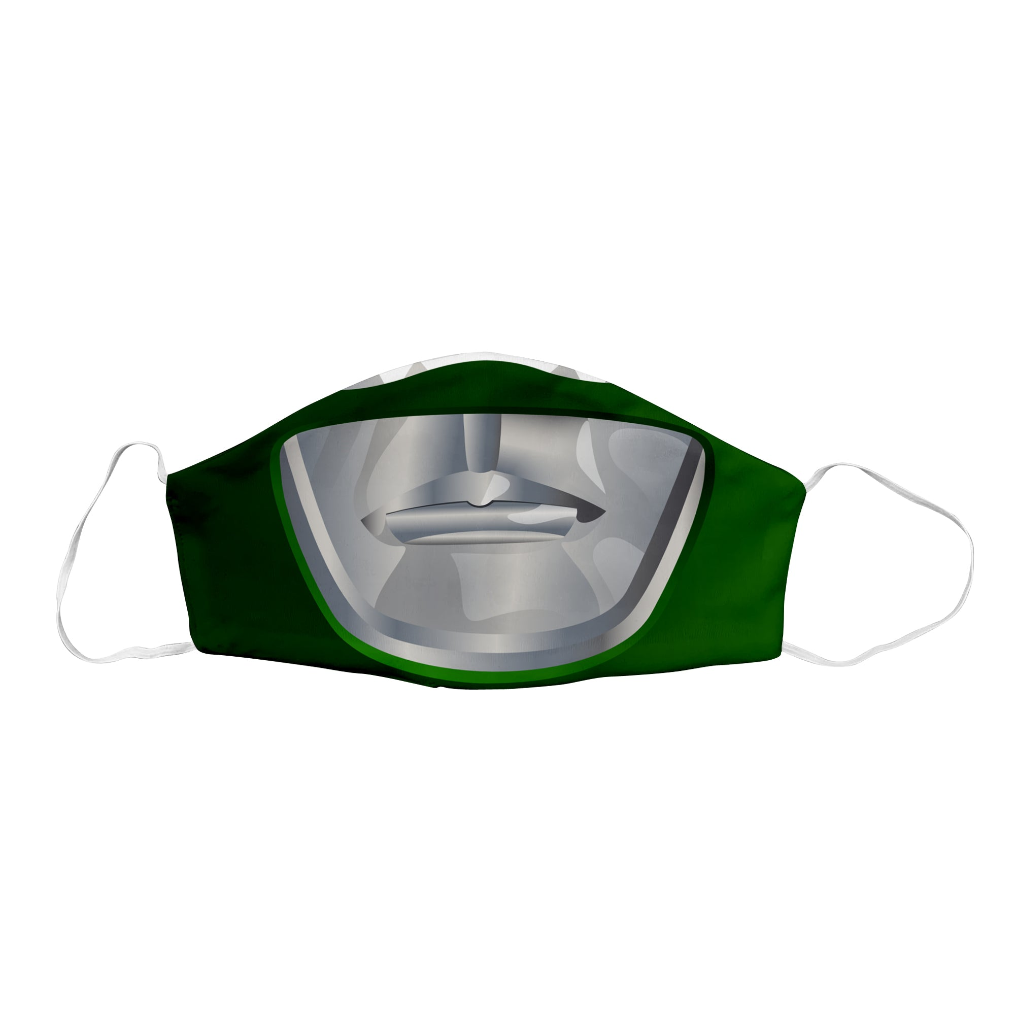 Green Sentai Ranger Face Mask