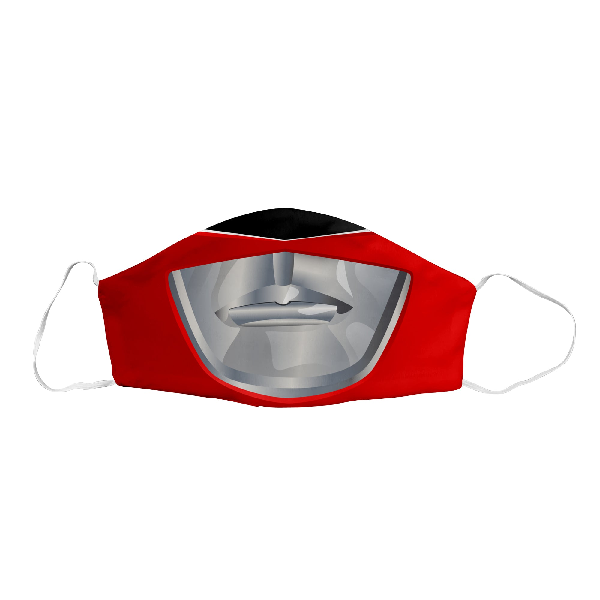Red Sentai Ranger Face Mask