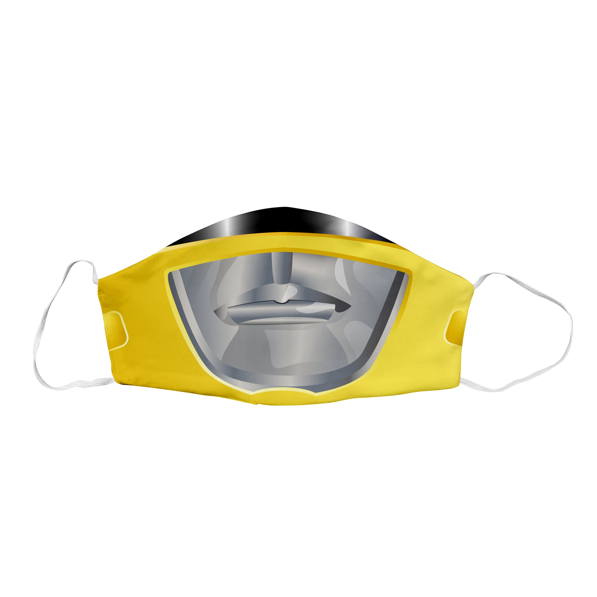 Yellow Sentai Ranger Face Mask