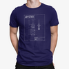 Retro Joystick Schematic T-Shirt