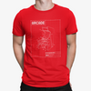 Retro Arcade Machine Schematic T-Shirt