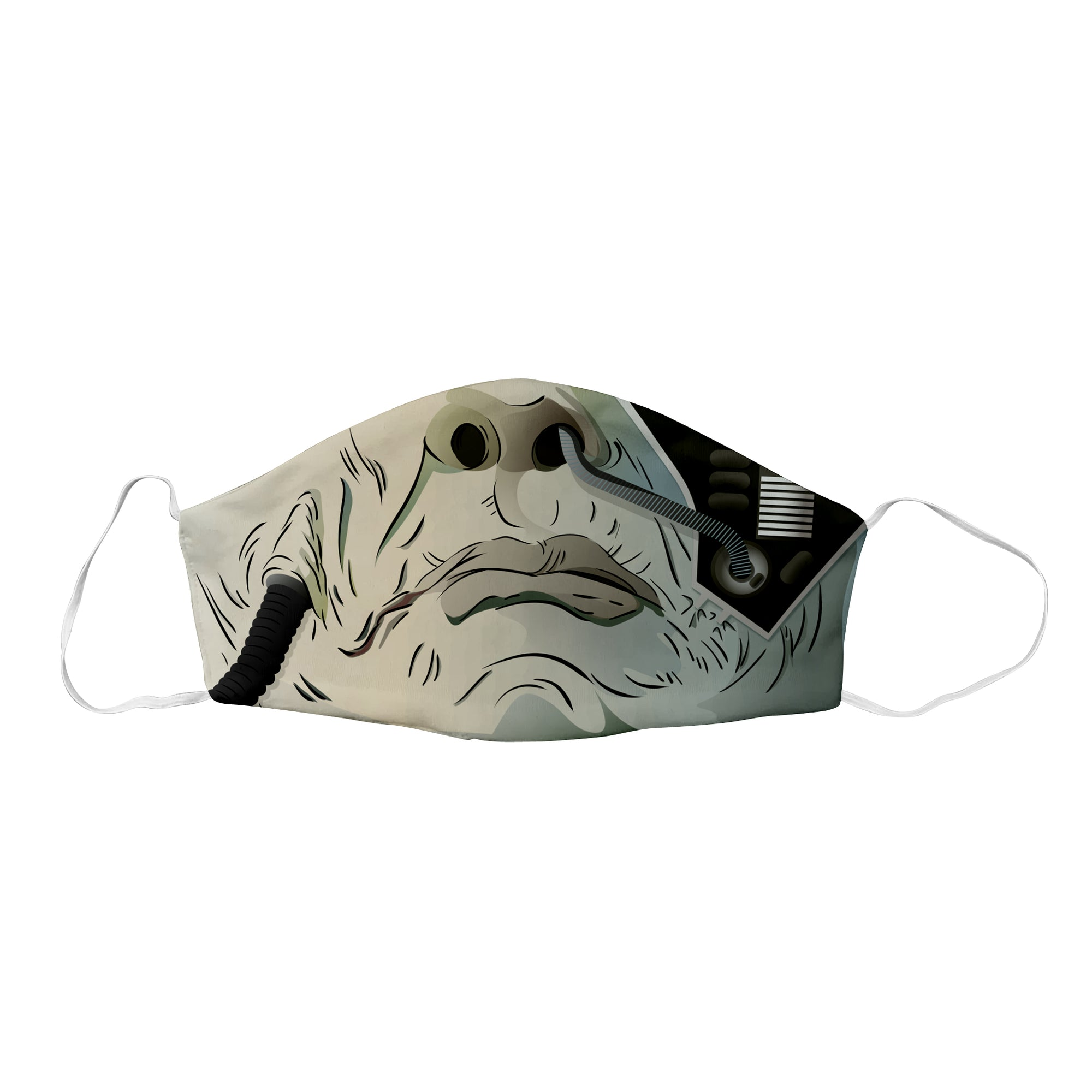 STNG Borg Sci-Fi Face Mask