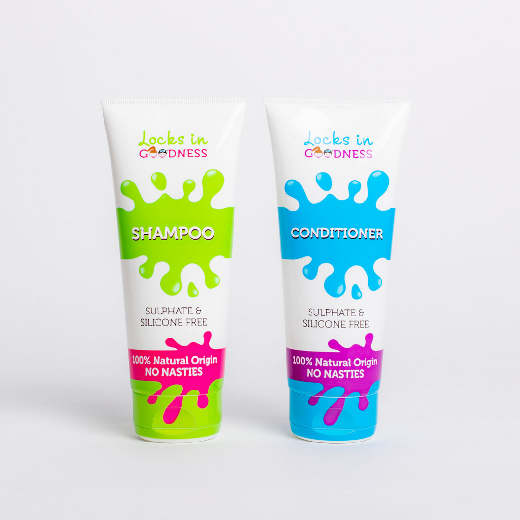 Natural Shampoo and Conditioner set - sulphate & silicone Free