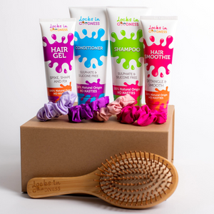 Natural Hair Care & Styling Gift Set