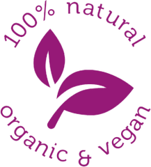 100% Natural, Organic and Vegan
