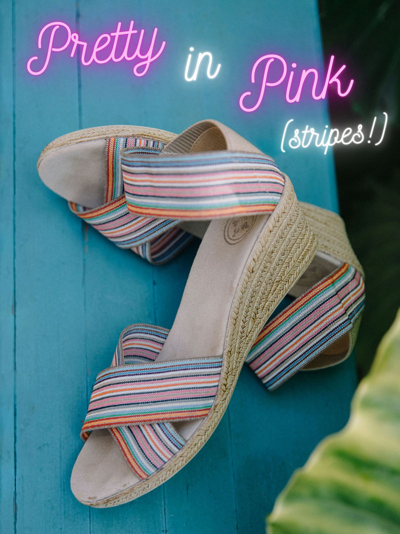 Pretty in Pink Stripes!