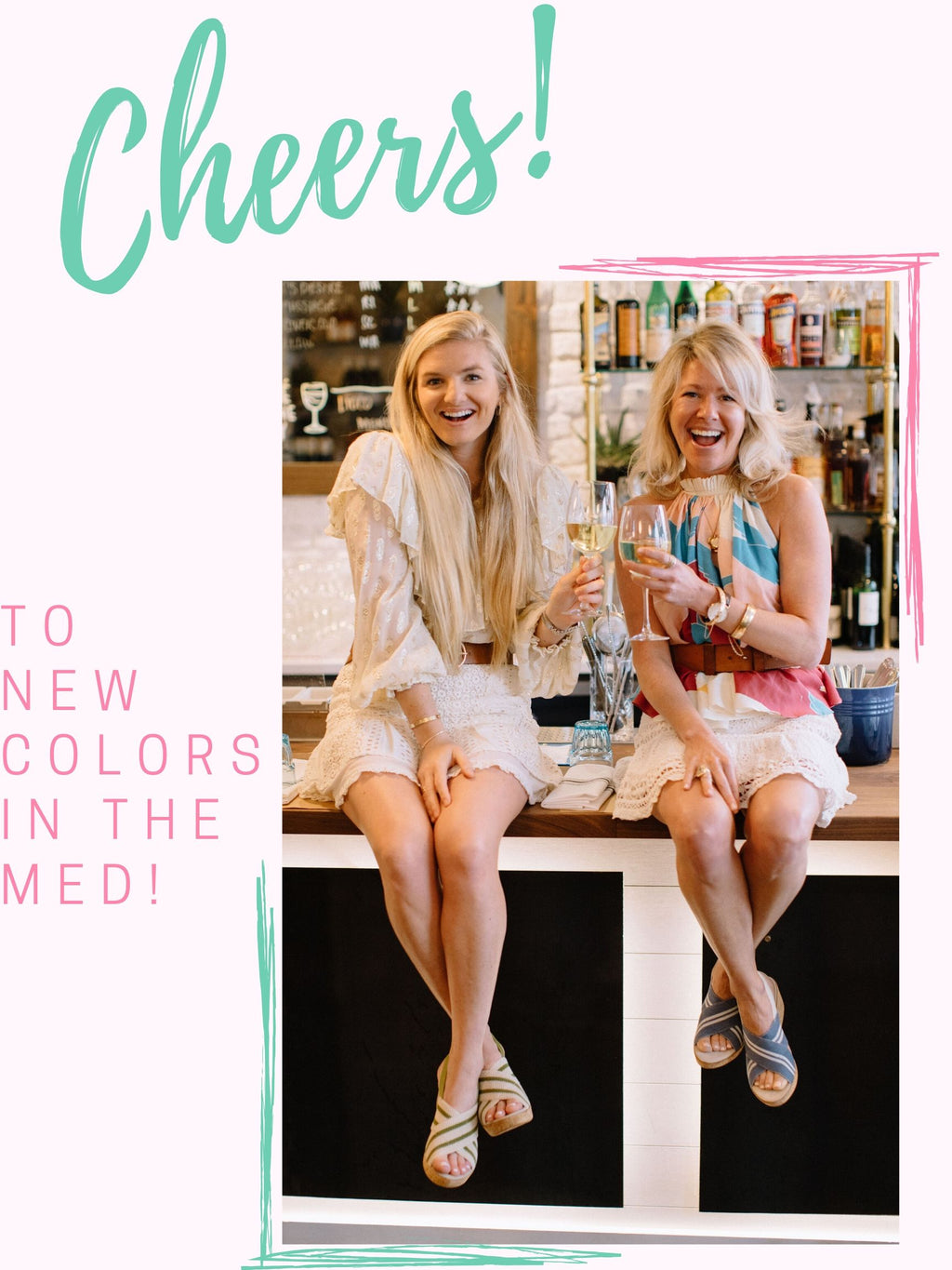 Cheers to the MED in Fresh Colors! 🥂