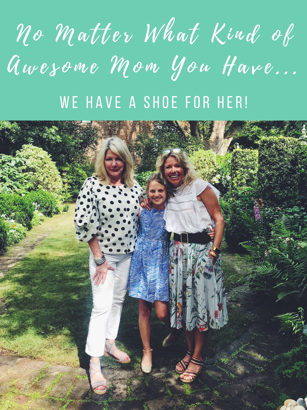 Why Buy Mom Flowers When You Can Buy Her Shoes!