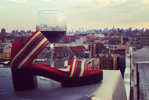 Charleston Shoe Co Monterey RMS with Wine - NYC New York City