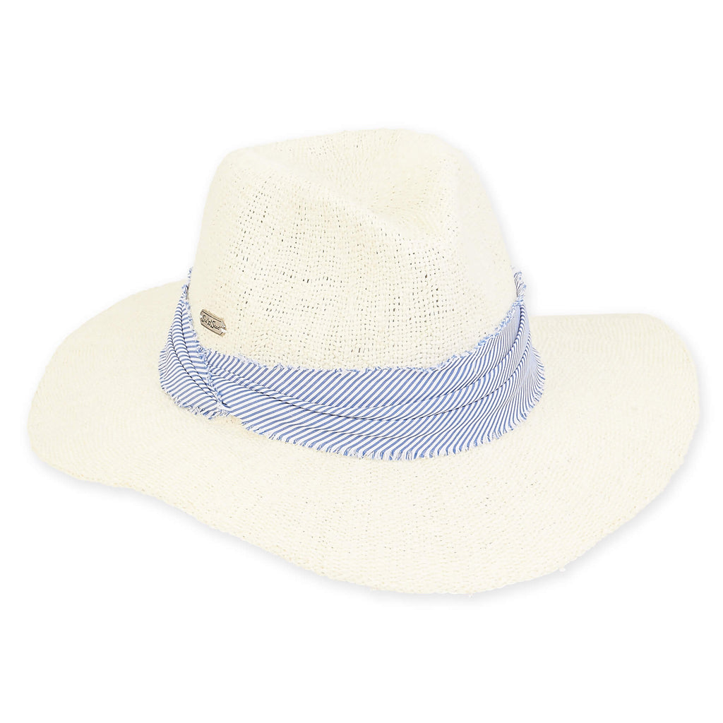 Pinched Toyo Straw Hat